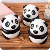 1 Pc Adorable Hand Pressure Panda Design Toothpick Box