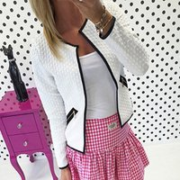 Charming Solid Long-sleeve Jacket