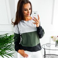 Trendy Backless Tie-up Long-sleeve Top