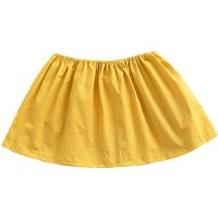 Pretty Solid Ruched Tube Top for Toddler Girl