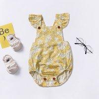 Baby Girl's Floral Patterned Bodysuit