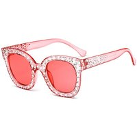 Women's Cool Stud Cat Eye Sunglasses