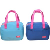 1-pack Trendy Solid Insulation Lunch Bag