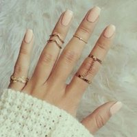 6-piece Trendy Ring Set for WOmen