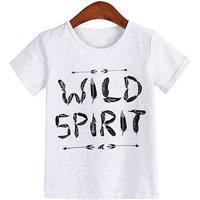 Trendy Wild Spirit T-shirt for Girl