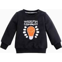 Cute Light Bulb Print Long-sleeve Pullover for Baby Boy and Boy