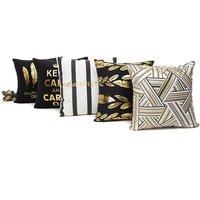 Fashionable Print Cushion Cover (No Inner)