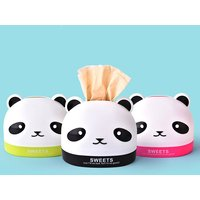 Cute Panda Design Tissue Box