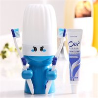 Creative Cartoon Design Toothbrush Cup Set
