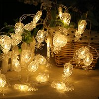 20-piece Cute Pineapple Design LED Light String Home Decoration