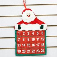 Portable Santa Claus Design Calendar for Decor
