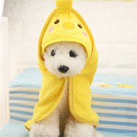 1 Pc Lovely Cartoon Designed Pet Bath Towel