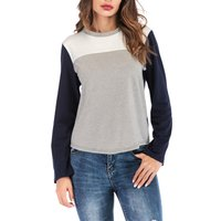 Fashionable Color Blocked Top