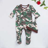 Camouflage Long-sleeve Baby/Toddlers Romper/Jumpsuit