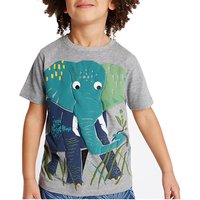 Trendy Elephant Printed Tee for Kid