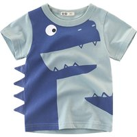 Adorable Animal 3D Style Tee for Kid