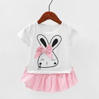 Faux-two Rabbit Dress with Bow