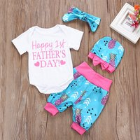 4-piece First Father's Day Outfit