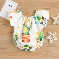 Pretty Matching Bodysuit and Tee and Shorts Set for Baby