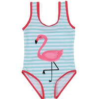 Cute Flamingo Dinosaur Girls Swimwear