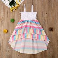 Baby/ Toddler Girl's Rainbow Dress