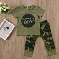 Daddy's Girl/Boy Camouflage Outfit