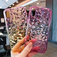 Stylish Transparent Gradient Phone Case for iPhone and Samsung