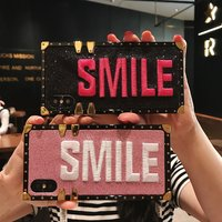 "Trendy ""Smile"" Stitch Phone Case for iPhone and Samsung"