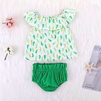 Baby/Toddler Girl's Chili Dress and Solid Shorts