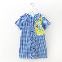 Stylish Plaid Short-sleeve Dress