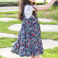 2-piece Fresh Solid Short-sleeve Top and Slip Dress Set