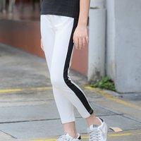 Fashionable Stripe Design Leggings