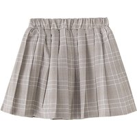 Fashionable Plaid Pleated Skirt
