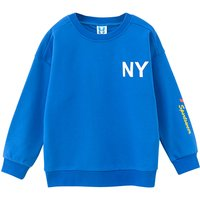 Simple Letter Printed Long-sleeve Sweatshirt for Kid