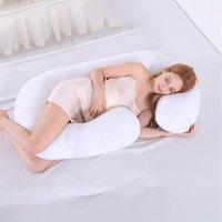 Useful C Shaped Full Body Pillow for Pregnant Women