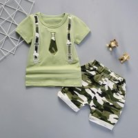 Embroidered Camouflage Set