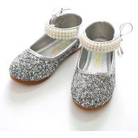 Elegant Pearl Design Flats for Girl