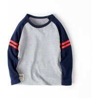 Simple Striped Design Tee for Kid