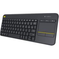 Image of Tastiera Wireless touch keyboard k400 plus - tastiera - inglese 920-007143