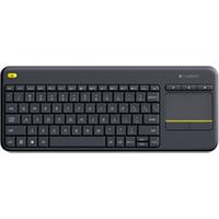 Image of Tastiera Wireless touch keyboard k400 plus - tastiera - olandese - nero 920-007145