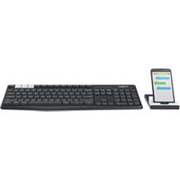 Image of Tastiera K375s multi-device - tastiera - italiano - grafite, off-white 920-008172