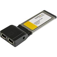 Image of Scheda PCMCIA Startech.com adattatore scheda per laptop expresscard 1394a a 2 porte ec13942a2