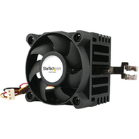 Image of Ventola Startech.com ventola cpu socket 7/370 50x50x41mm con dissipatore, tx3 e lp4 si