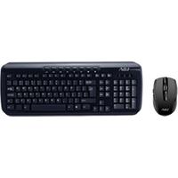 Image of Tastiera Shine kit wireless kw118 - set mouse e tastiera - italiano - nero 520-00018