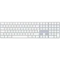 Image of Tastiera Keyboard with numeric keypad - tastiera - tedesco - argento mq052d/a