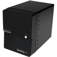 Image of Box hard disk esterno Startech.com box case esterno per 4 hard disk sata iii da 3,5'' con interfacce e