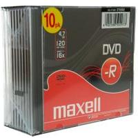 Image of DVD Dvd-r x 10 - 4.7 gb - supporti di memorizzazione 275592