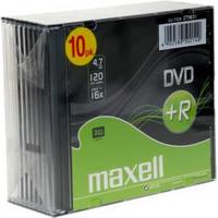 Image of DVD Dvd+r x 10 - 4.7 gb - supporti di memorizzazione 275631