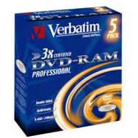Image of DVD Datalifeplus - dvd-ram x 5 - 9.4 gb - supporti di memorizzazione 43493/5