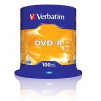 Image of DVD Dvd-r x 100 - 4.7 gb - supporti di memorizzazione 43549/100